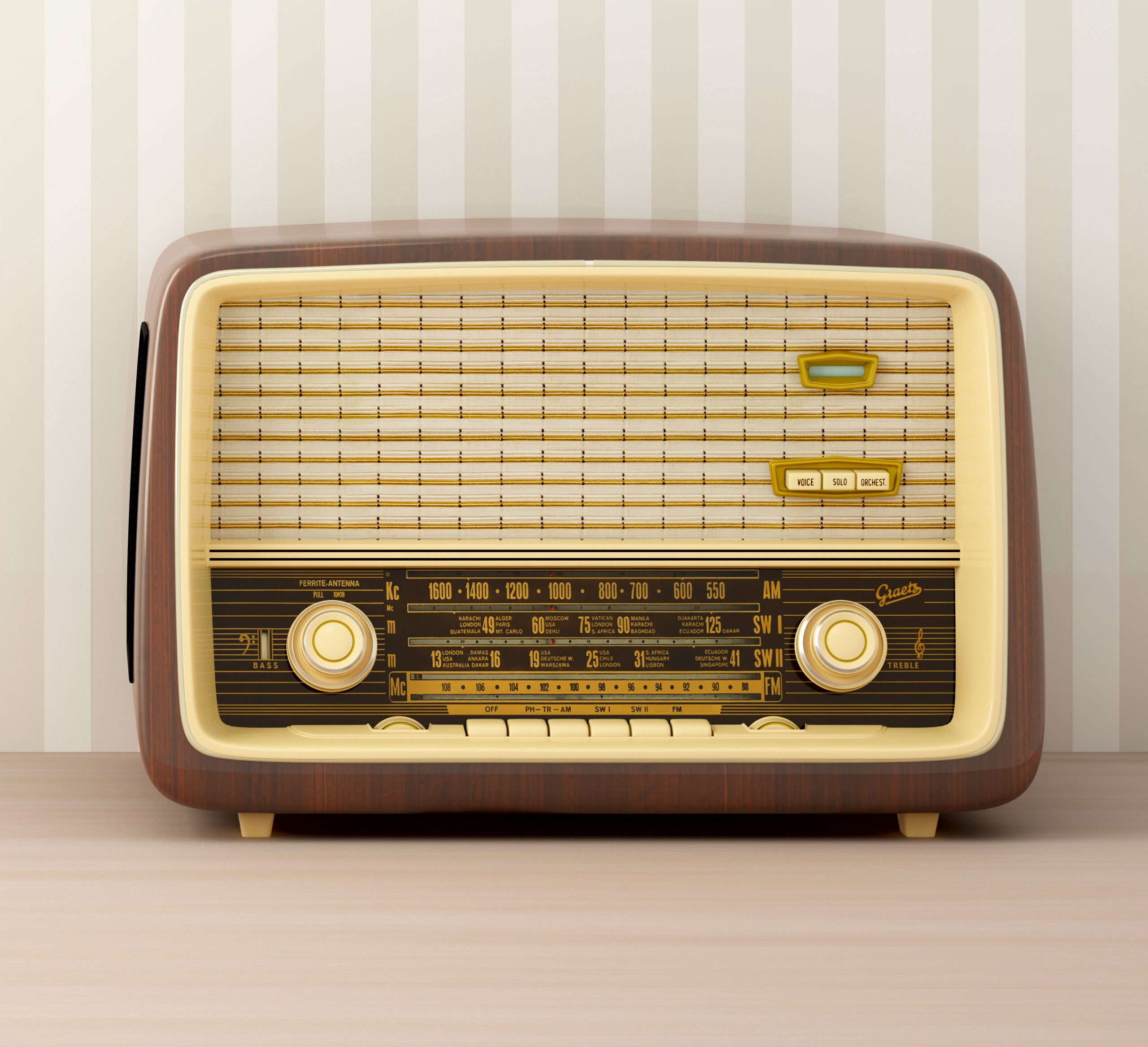 Rádio, anos 40 - 60