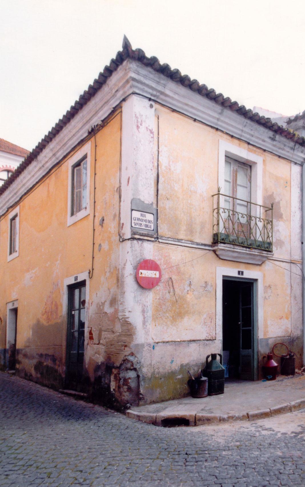 Oficina da antiga Rua da Parreira em que trabalhava Germano Vidigal (s/a, CMMN, s/d)