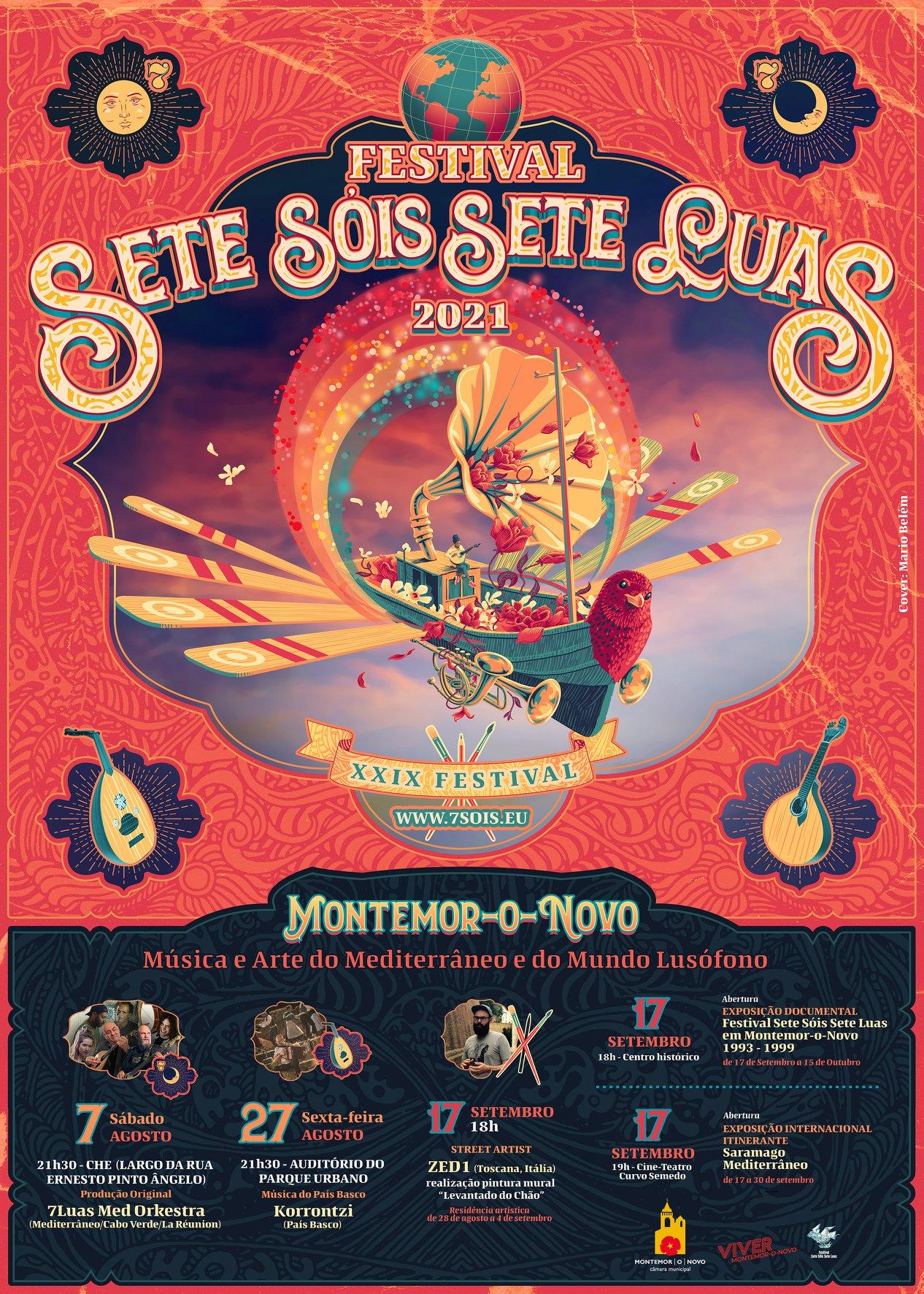Festival Sete Sóis Sete Luas em Montemor-o-Novo